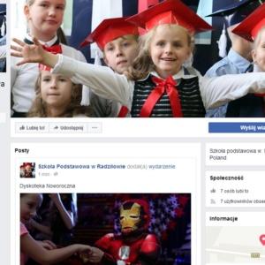 Podstawówka z Radziłowa na FB
