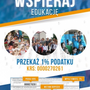 Przekaż 1% podatku na Szkołę Podstawową w Radziłowie