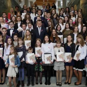 Marszałek nagrodził młodych artystów