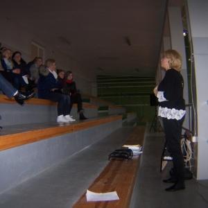 Wywiadówka profilaktyczna, warsztaty profilaktyczne dla uczniów, szkolenie rady pedagogicznej