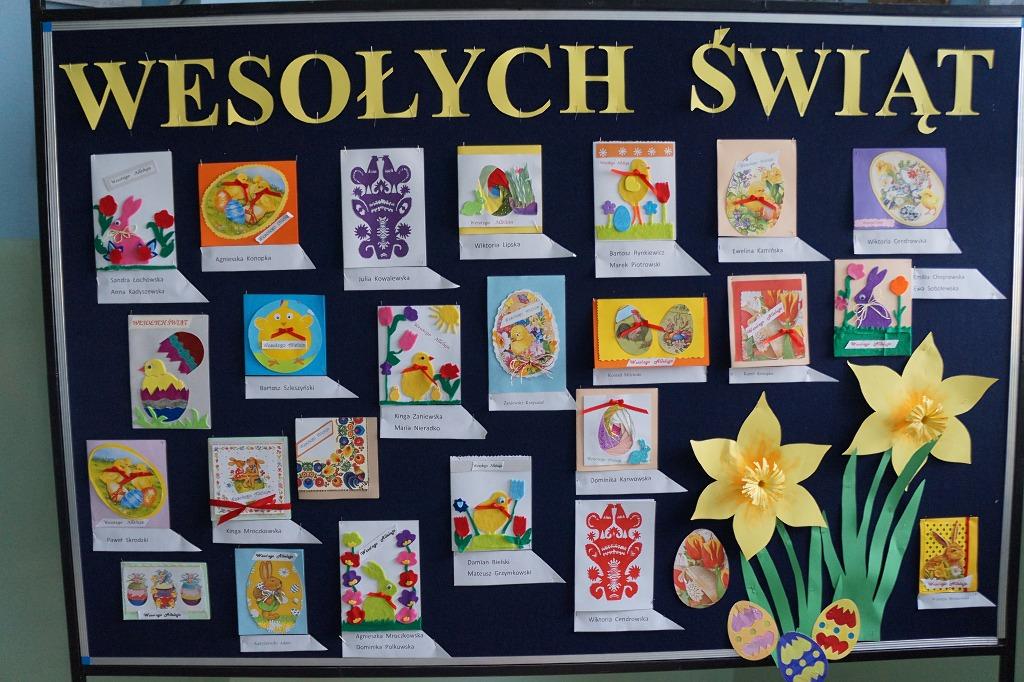 Dekoracje Wielkanocne Szkoła Podstawowa W Radziłowie