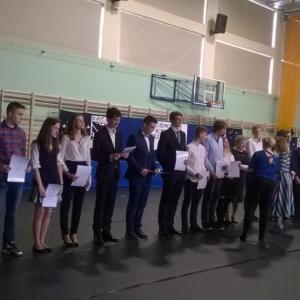 Gala wręczenia zaświadczeń o uzyskaniu tytułu laureata