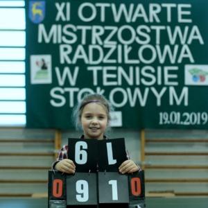 XI Otwarte Mistrzostwa Radziłowa w Tenisie Stołowym – WYNIKI