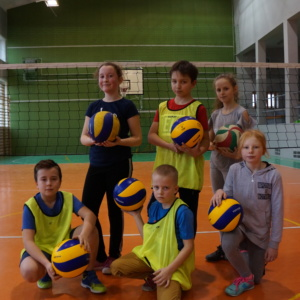 Sportowe Ferie – mini piłka siatkowa.