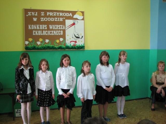 Konkurs Wiersza Ekologicznego Szkoła Podstawowa W Radziłowie